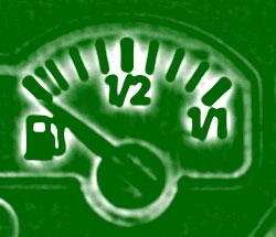 Tipps, zum Benzinsparen