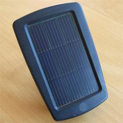Bild von einem solarbetriebenen Ladegerät