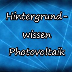 Photovoltaik Wissen - Monokristalline Module
