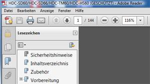Bild einer PDF Datei