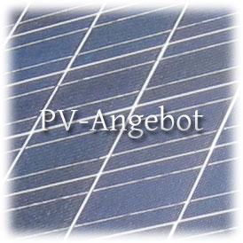 Tipps für ein Photovoltaik Angebot
