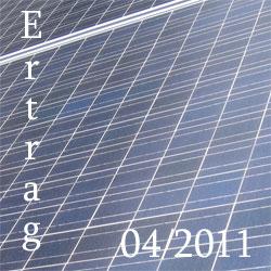 Bild Photovoltaik Ertragsdaten