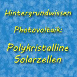 Polykristalline Solarzellen