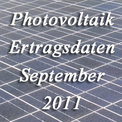 Bild Photovoltaik Ertrag Sept 2011